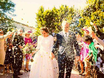 Beautiful wedding ceremony Seville