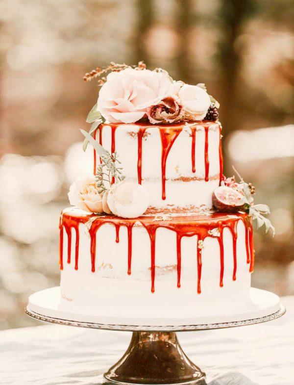 wedding cake 2 layers
